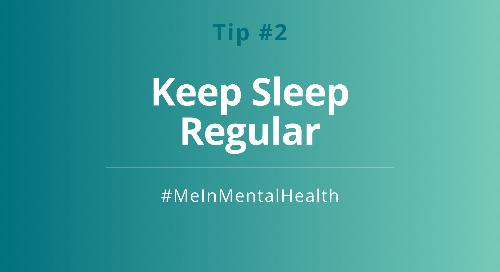 Tip 2: Keep Regular Sleep