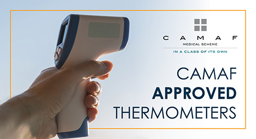 CAMAF Approved Thermometers