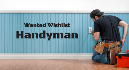 Wanted Wishlist: Handyman