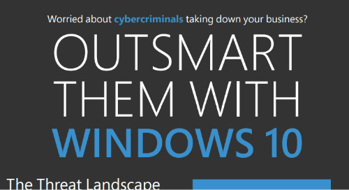 Outsmart Cybercriminals with Windows 10
