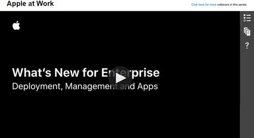 What's New for Enterprise: On-Demand Webinar