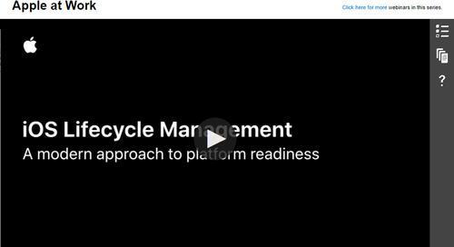 iOS Lifecycle Management: On-Demand Webinar