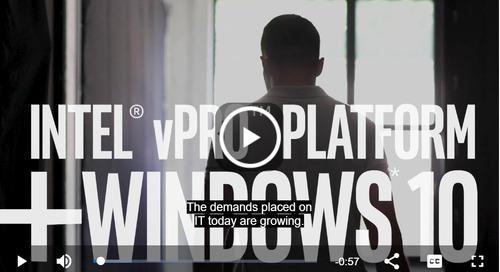 Windows 10 Hardening with the Intel® vPro™ Platform