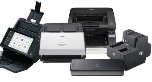 Canon: Try before you buy a Canon document scanner