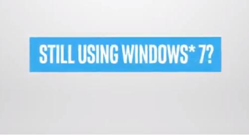 [Video] Shift to Modern Windows 10 Pro PCs powered by Intel