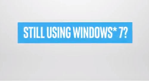 [Video] Shift to Modern Windows 10 Pro PCs powered by Intel