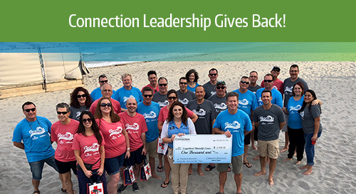 Connection Leadership Gives Back 2018