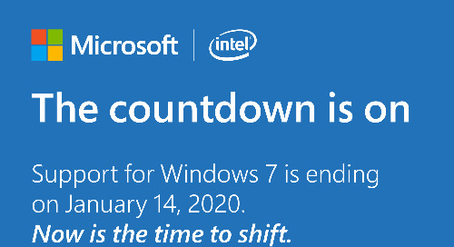 The Countdown is on - Windows 7 Support Ends in 2020