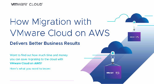 How Migration with VMware Cloud on AWS Delivers Better Business Results