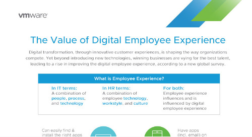 VMware - The Value of Digital Employee Experience