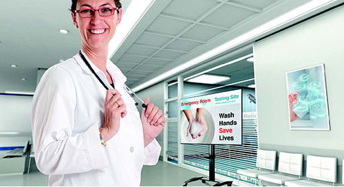 Health Care Digital Signage Promotion from Samsung