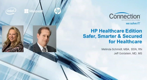 HP Healthcare Solutions Reimagined Webinar [Recording]
