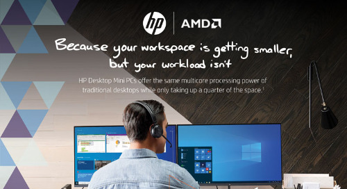 HP & AMD | Desktop Mini PCs Delivering Reliability and Pure Performance