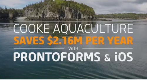 [Video] Cooke Aquaculture Goes Mobile with ProntoForms