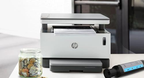 Cartridge-Free & A Tank Full of Savings | HP Neverstop Laser Printer