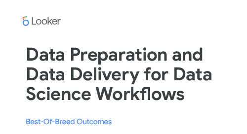 Data Preparation and Data Delivery for Data Science Workflows