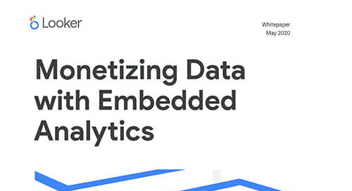 Monetizing Data with Embedded Analytics