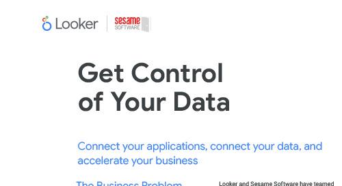 Sesame Software Solution Brief