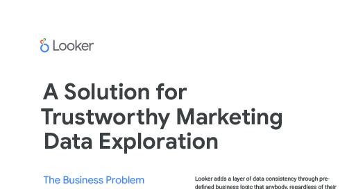 Looker & SuperMetrics: A Solution for TrustWorthy Marketing Data Exploration