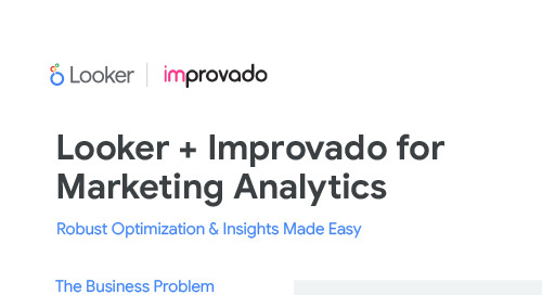 Looker & Improvado Solution Brief: Robust Optimized and Insights Made Easy