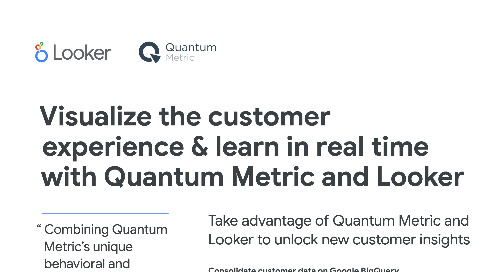Quantum Metric + Looker Partnership Overview