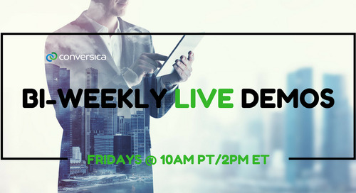 Friday Live Demos -  watch AI engage leads in real conversations (Your Desk)