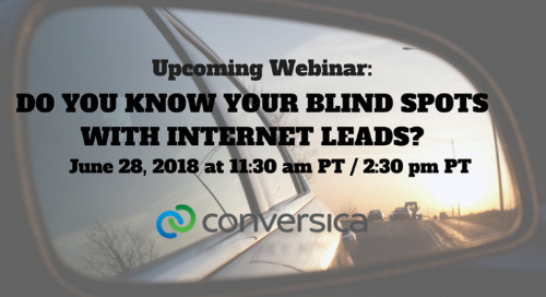 June 28 at 11:30 am PT / 2:30 pm PT: Webinar - Do You Know Your Blind Spots with Internet Leads?
