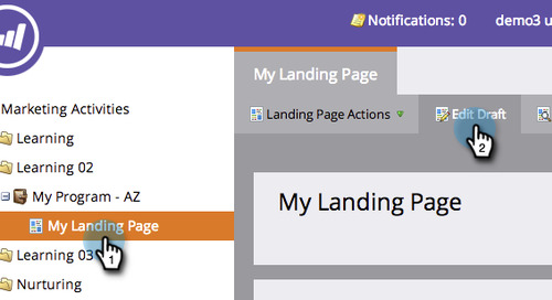 Marketo Landing Page Robot Definitions