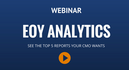 Webinar: End-Of-Year Analytics For Your CMO