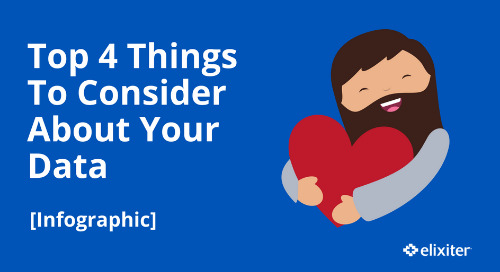Top 4 Things To Consider About Your Data [Infographic]