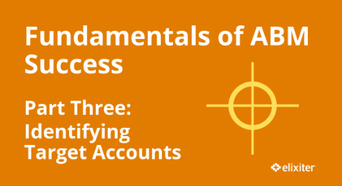 Fundamentals of ABM Part 3: Identifying Target Accounts