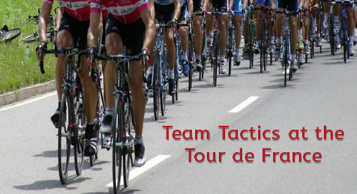 Team Tactics at the Tour de France