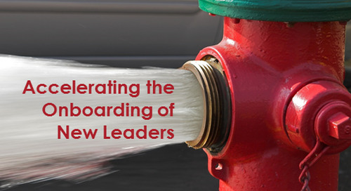Onboarding for New Leaders