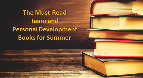 The Must-Read Team and Personal Development Books for Summer