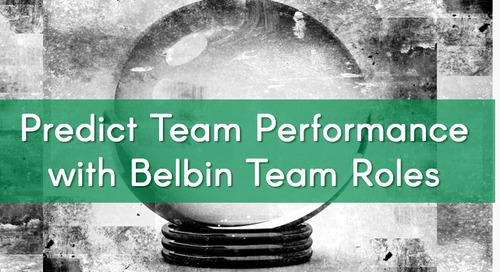 The Secret of Predicting Team Performance
