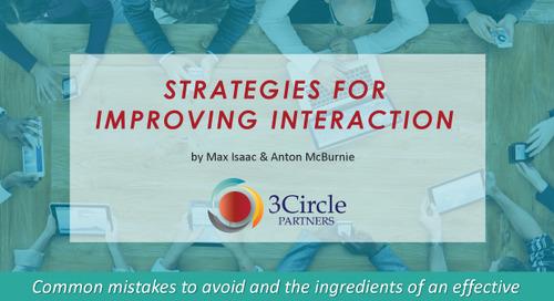 Interaction Strategies