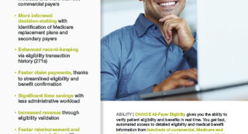 ABILITY | CHOICE® All-Payer Eligibility