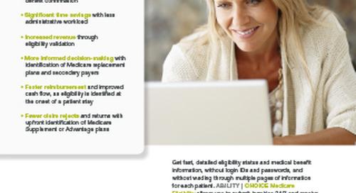 ABILITY CHOICE® Medicare Eligibility