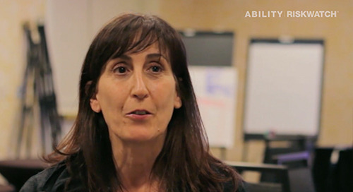 [Customer Voices] ABILITY | RISKWATCH®