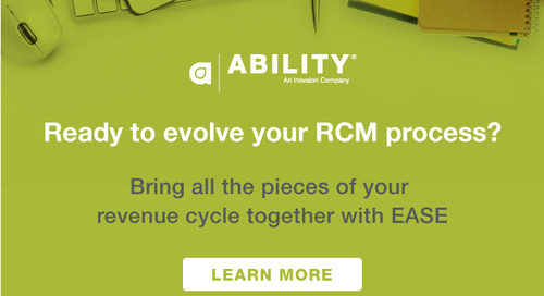 Bring all the pieces of your revenue cycle together with EASE