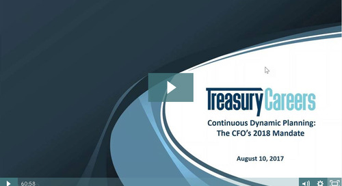 Continuous Dynamic Planning: The CFOs 2018 Mandate