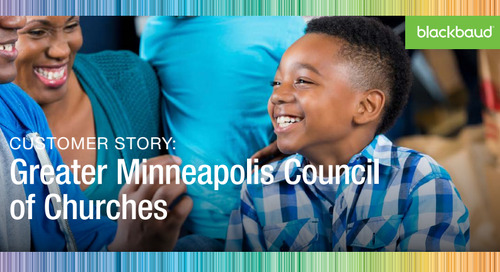 Greater Minneapolis Council of Churches: Accurately Connecting Donations with Financial Reports