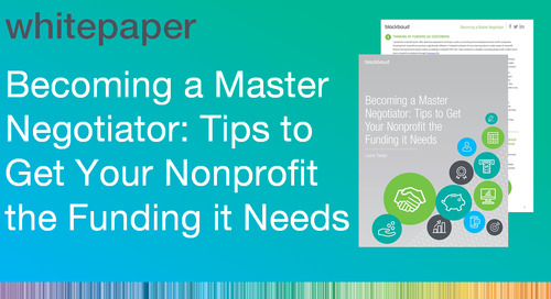 Becoming a Master Negotiator: Tips to Get Your Nonprofit the Funding it Needs