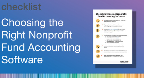 Choosing the Right Nonprofit Fund Accounting Software
