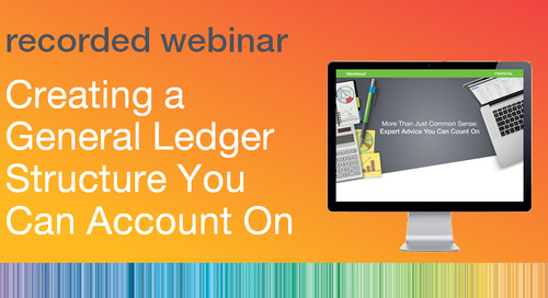 Creating a General Ledger Structure You Can Account On