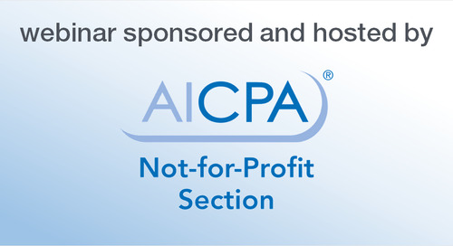 AICPA Webinar: Cybersecurity Pitfalls and Information Risk Management for Not-for-Profits
