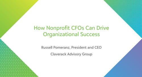How Nonprofit CFOs Can Drive Organizational Success