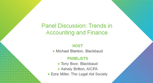 Panel Discussion: Trends in Accounting and Finance