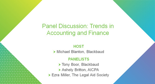 bbcon Encore: Trends in Accounting and Finance Panel Discussion