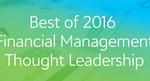 Best of 2016: Financial Management Thought Leadership Webinar Series